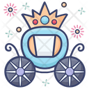 Princess Carriage Carriage Royal Buggy Icon