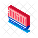 Carriage Container Transportation Icon