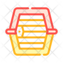 Dog Carriage Cage Icon