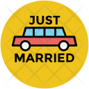 Carriage Wedding Car Icon