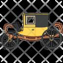 Carriage Ride Buggy Sedan Chair Icon