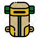 Carrier Bag Backpack Hiking Icon