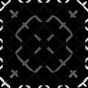 Carrom Board Game Icon