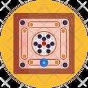 Board Games Carrom Game Icon