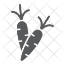 Carrot Carrots Vegetable Icon