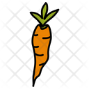 Carrot Vegetable Food Icon