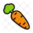 Carrot Vegetable Organic Icon