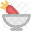 Carrot Vegetable Nutrition Icon