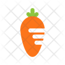 Carrot Vegetable Healthy Icon