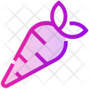 Spring Carrot Vegetable Icon