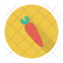Carrot Vegatable Food Icon