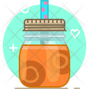 Carrot Peach Smoothie Icon