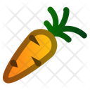 Carrot Spring Vegetables Icon