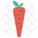 Carrot Meal Vegetarian Icon