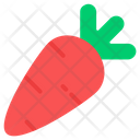Vegetable Carrot Food Icon