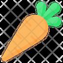 Carrot Vegetable Vegan Icon