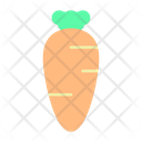 Carrot Food Vegetable Icon