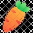 Carrot Carrots Vegan Icon