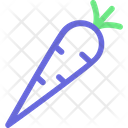 Carrot Food Healthy Icon