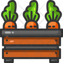 Carrot Food Vegan Icon