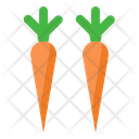 Carrot Vegetable Plant Icon