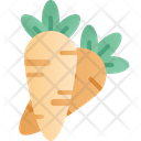 Carrot Vegetable Easter Icon