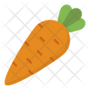 Carrot Food Vegetables Icon