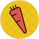 Carrot Root Vegetable Icon