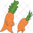 Carrot Butt Icon