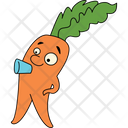 Carrot Drinking Icon