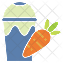 Carrot Juice Icon