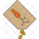 Carrot Seeds Icon