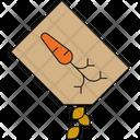Carrot Seeds Seeds Seeding Icon