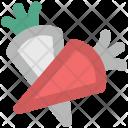 Carrots Parsnip Vegetable Icon