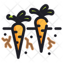 Carrots Ecology Energy Icon