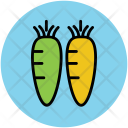 Carrots Vegetables Root Icon