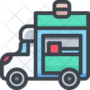 Carry Food Truck Icon