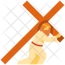 Carrying Cross Icon