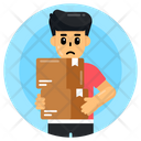 Carrying Load Icon