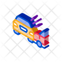Collision Two Cars Icon