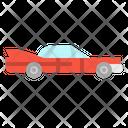 Classic Car Transportation Icon