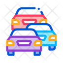 Cars Protest Icon