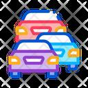 Stream Cars Protest Icon