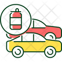 Recycle Steel Car Icon