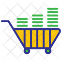Business Investation Cart Shopping Icon