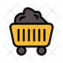 Cart Mining Cart Trolley Icon