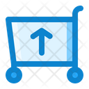 Cart Shopping Up Icon