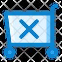 Cart Shopping Remove Icon