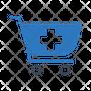 Cart Trolley Medical Icon