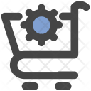 Cart Setting Trolley Icon